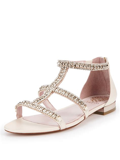 vince sandals vince camuto vince camuto hilinda cous flat sandals in