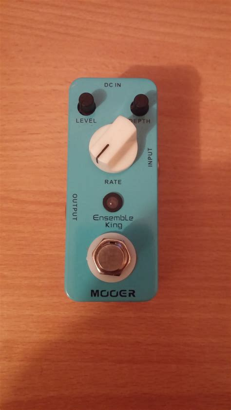 Mooer Ensemble King Efek Chorus ensemble king mooer ensemble king audiofanzine