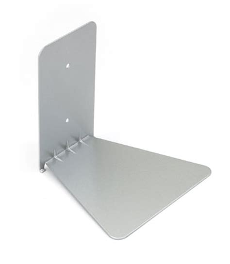 floating metal book shelf
