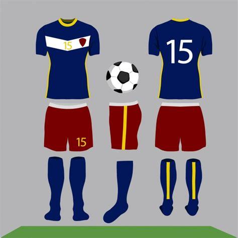 football clothes design vector free