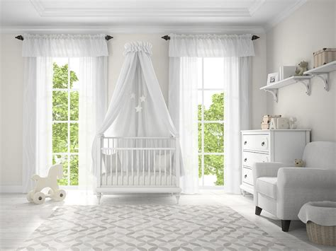 White Curtains Nursery White Curtains For A Nursery Curtain Menzilperde Net