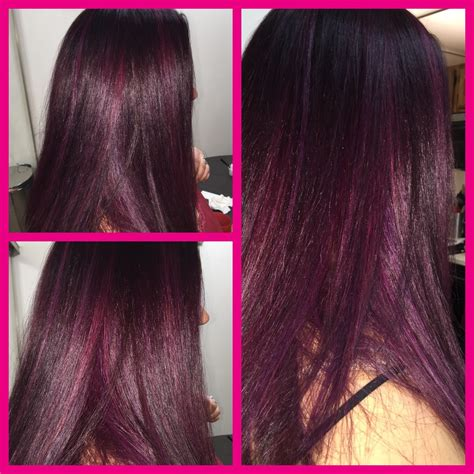 joico color joico color intensity wella burgundy hair pink and purple