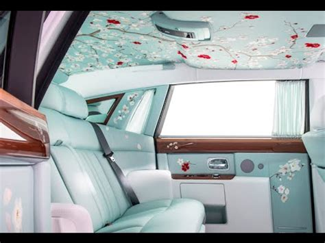 rolls royce gold interior rolls royce phantom serenity interior walk around in
