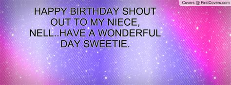 Happy Birthday To My Niece Quotes Happy Birthday To My Niece Quotes Quotesgram