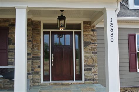 Patio Design Ideas Pictures Craftsman Front Door Entry Dc Metro With Transitional