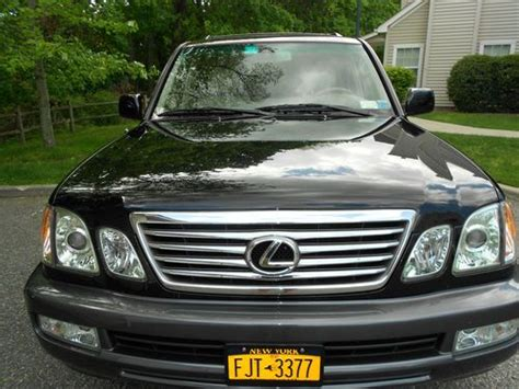2007 lexus lx470 for sale by owner sell used 2001 lexus lx470 base sport utility 4 door 4 7l