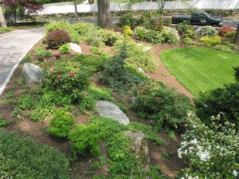 low maintenance landscaping ideas rock and plants home low maintenance hillside plants landscaping a slope