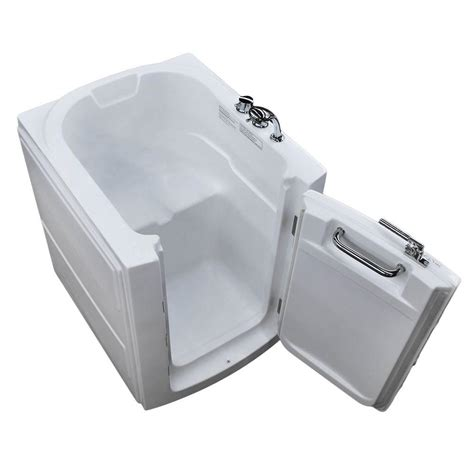 home depot walk in bathtub universal tubs 3 2 ft walk in bathtub in white hd3238rws