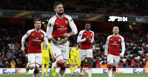 arsenal europa league draw who could arsenal face in europa league last 32 draw