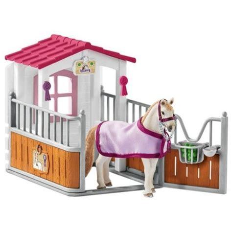 schleich stall stall with luistana mare schleich 42368 from who