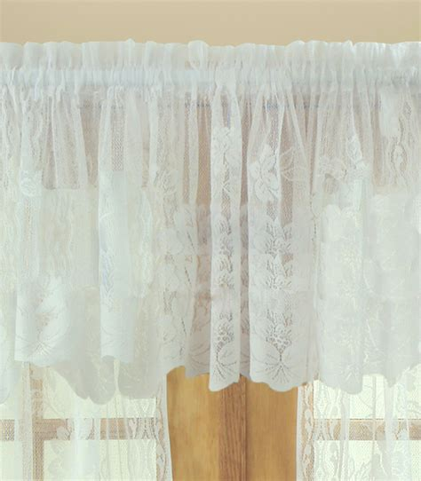 lace swag valance curtains lace valances balloon shades swags m valances