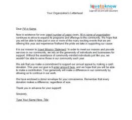 how to write a persuasive letter asking for donations