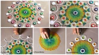 Simple Craft Ideas For Kids With Paper - small and quick rangoli design simple craft ideas