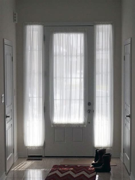 door sheers curtains for door door
