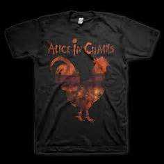 alice in chains rooster this awesome violent femmes t shirt features the words