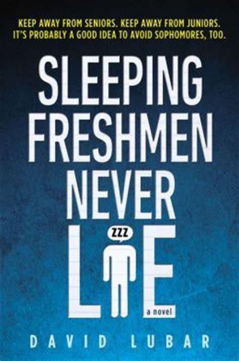 the animals never lie books sleeping freshmen never lie