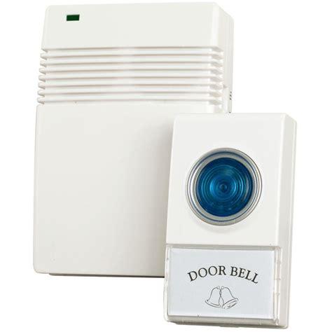 home depot wireless doorbell on black decker home