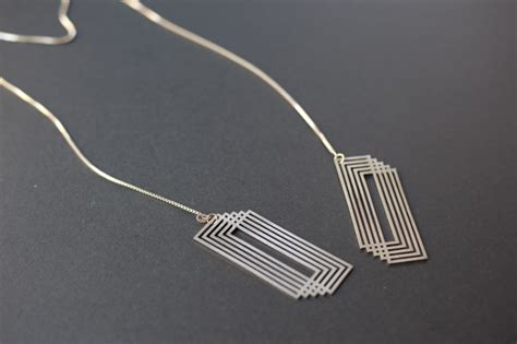 Architecture Design Jewelry Cut Architecture Inspired Jewelry Series By Yumi Endo