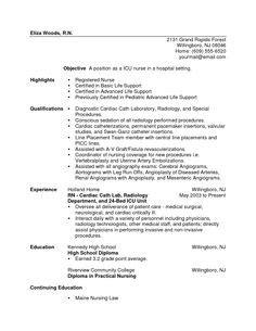 Resume For Registered New Grad New Grad Resume New Grad Registered Cover