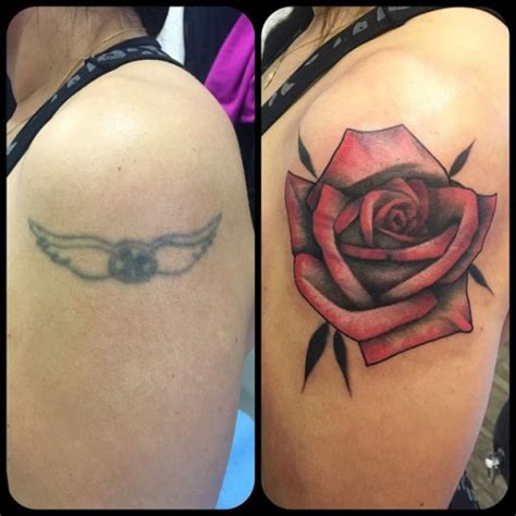 rose coverup tattoo cover up best ideas gallery