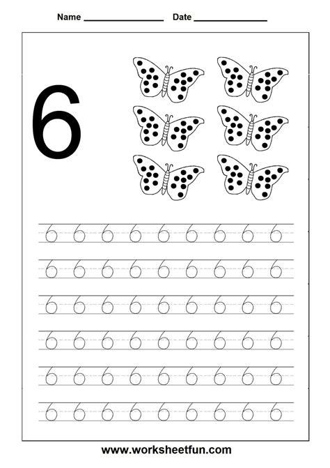 printable tracing number 6 number 6 worksheet www pixshark com images galleries