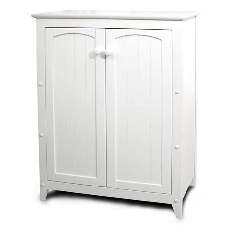 catskill white all purpose kitchen storage cabinet with