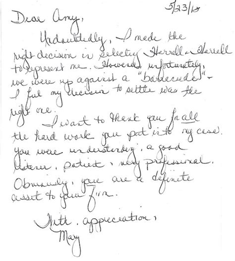 appreciation letter to lawyer appreciation letter to a friend all letters of