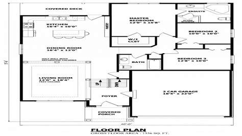 2 Bedroom Bungalow House Plans by 2 Bedroom Bungalow Plans Raised Bungalow Floor Plans
