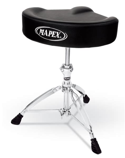 Mapex Drum Stool mapex t755 drum stool throne saddle top threaded shaft