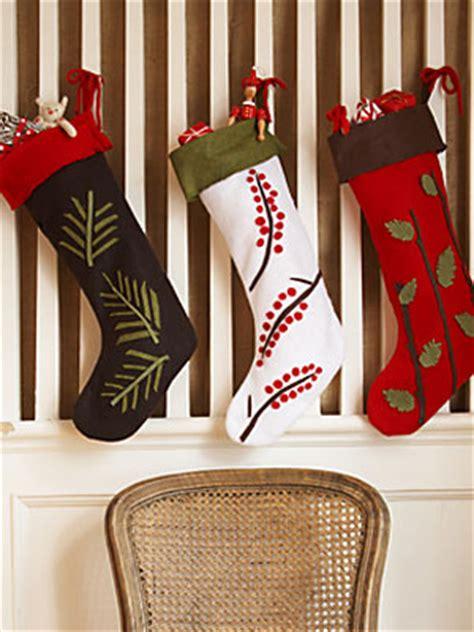 xmas stocking pattern ideas christmas crafts at womansday com christmas stocking