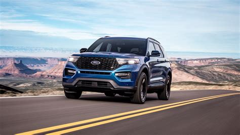 2020 Ford Lineup by 2020 Ford Explorer Lineup Adds 400 Hp St Variant And