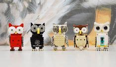 lego owl tutorial pinterest the world s catalog of ideas
