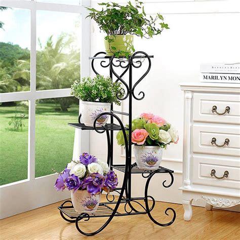indoor plant displays flower pots garden trends antique 4 tier plant stand flower pot display shelf garden