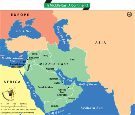 middle east map continent middle east region answers
