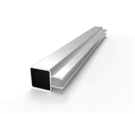 C Hanel Square aluminum tubing square for connectors 1 quot x 1 quot w
