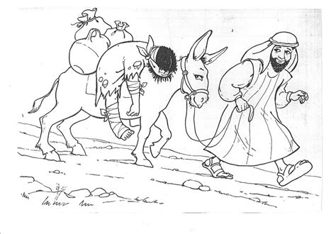 printable coloring pages of the samaritan 為孩子們的著色頁 samaritan coloring printables pages