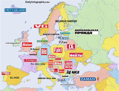 Top Mba Europe 2015 by Best Selling Newspapers In European Countries