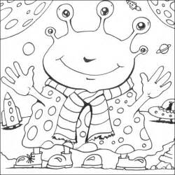 space coloring pages colouring