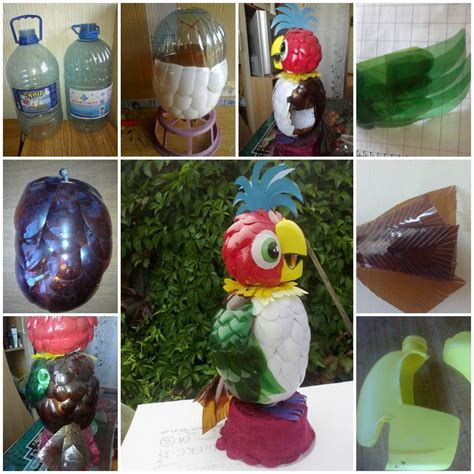 Recycle Home Decor Ideas diy parrot kesha from plastic bottles