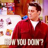 Joey Meme How You Doin - rachel green gifs find share on giphy