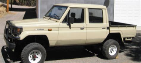 What Year Did Toyota Start What Year Did They Start Cab 70 Series Truck