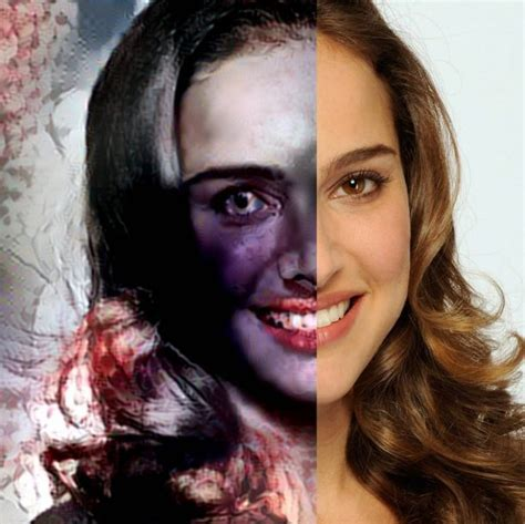 The Natalie Portman Is Scary by These Pictures By An Artificial Intelligence Machine Will