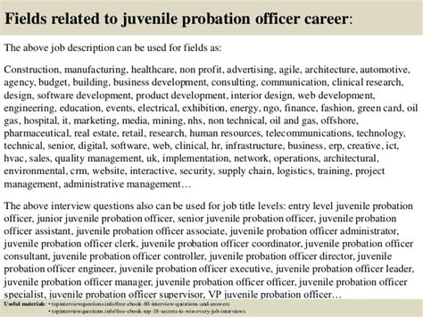 top  juvenile probation officer interview questions  answers