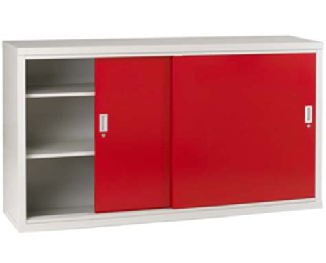 sliding door storage cabinet h1020 x w1830 x d460mm