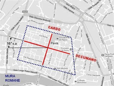 cartina stradale pavia curiosit 224 di pavia e dintorni l orientamento delle