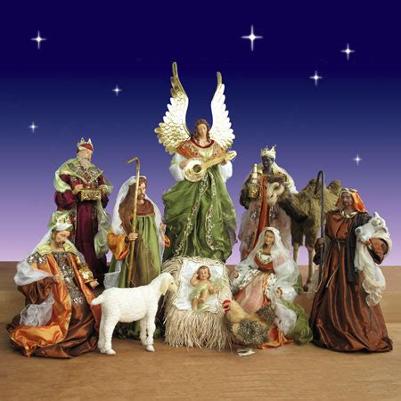 where to get life nativity set indoor nativity sets for displays