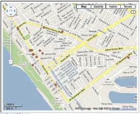 map of venice california marijuana dispensary closure map yo venice