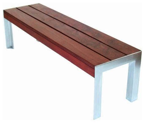 modern outdoor wood bench stools benches wood and concrete bench modern outdoor