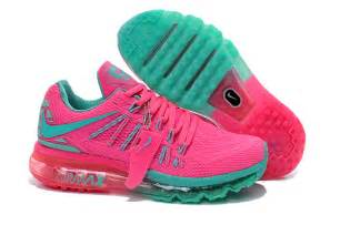 2015 lowest price wholesale womens nike air max 2015 pink turquoise