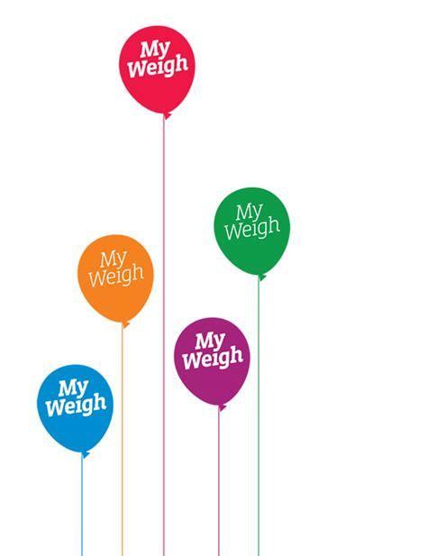 weight management tower health myweigh logo identity